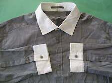 Rare~DKNY jeans Donna Karan dress suit Shirt Top~Men sz XL
