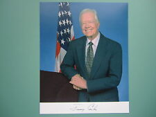 "Prepinted 8"" x 10"" Autographed photo of President Jimmy Carter"