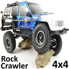 RC Rock Crawler Camión Jeep 1:10 escala 4x4 4WD Off Road Land Rover Cherokee coche