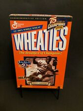 Jackie Robinson Wheaties Cereal - Empty and Resealed 75 Years of Champions 1996
