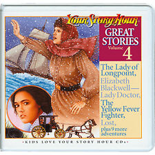 NEW! Your Story Hour Great Stories Volume 4 on Audio CD  DOG BEAR Lady Longpoint