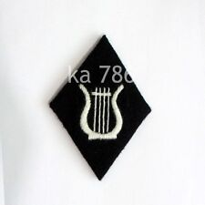 WWII GERMAN ARMY BANDMASTER SS ARM BADGE