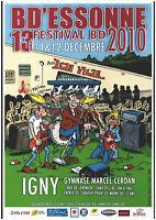 AFFICHE DE LUCIEN  POUR LE FESTIVAL BD DE IGNY EN 2010 PAR FRANK MARGERIN NEUF