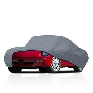 Semi Custom Fit Water Resistant Full Car Cover for 1969-1974 Jaguar XKE 2+2