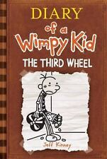 Diary of a Wimpy Kid: The Third Wheel by Jeff Kinney (2012, Hardcover, 1st Edit…