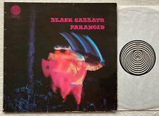 BLACK SABBATH - Paranoid LP  Vertigo Swirl 1970 Metal DIO Iron Maiden OZZY Venom