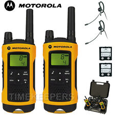 10Km Motorola TLKR T80 Extreme IPX4 Rugged All Weather Two Way Radio Twin Pack