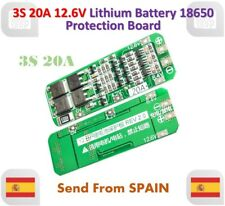 3S 20A Li-ion Lithium 18650 BMS PCM Battery 12.6V Protection Board