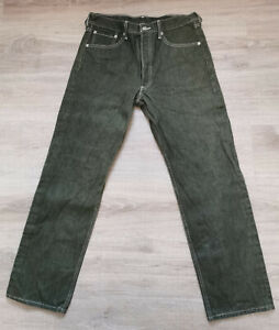 Levis 501 XX Herren Jeans Hose grün W:34 L:32 super Zustand Vintage Levi's
