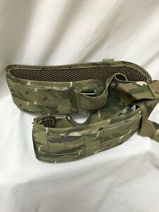 EAGLE INDUSTRIES Padded Military Belt XXL 75th Multicam RLCS WAR BELT Crye