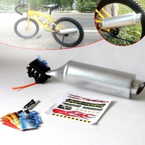 Turbospoke Fahrrad Auspuff Exhaust Motorsound Geräusche MTB BMX Neu