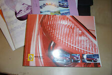 RENAULT SCENIC OWNERS handbook DRIVERS MANUAL +WALLET 2005