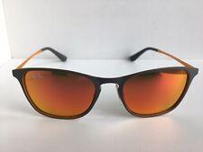 New Ray-Ban Kids RJ 48mm Gray Orange Mirrored Sunglasses No case