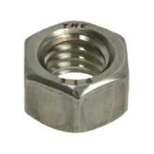 "Pack Size 10 Stainless G316 Marine Hex Standard 1"" UNC Imperial Coarse Nut"