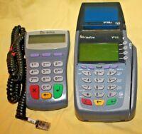 Verifone VX510 Omni 5100 Credit Card Terminal & Pinpad 1000SE No Power Supply