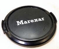 Marexar 52mm  Lens Front Cap snap on type vintage plastic black
