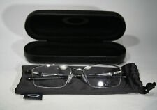 Unworn OAKLEY LIMIT SWITCH 0.5 OX5119-0454 Black Chrome Titanium Glasses Frames