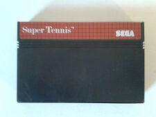 SUPER TENNIS - SEGA MASTER SYSTEM