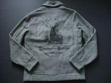POLO RALPH LAUREN Men's Vintage Deer Print Jacquard Hunting Jacket L