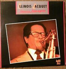 Illinois Jacquet Illinois Flies Again 2 LP Argo Jazz Italy Pressing Kenny Burrel