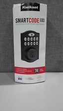 Kwikset 99160-021 SmartCode 916 Traditional Smart Touchscreen Deadbolt Door Lock