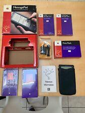 Apple Newton MessagePad H0001Z/A Cargador Batería Funda de cuero, libro de Sellado