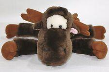 "Plush Creations Inc  Stuffed Plush Animal  MOOSE 10"" Laying Toy"