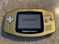 Nintendo Game Boy Advance Pokemon Center New York Gold Handheld System