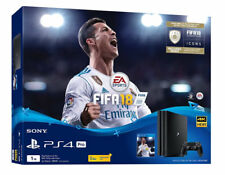 Sony PlayStation 4 Pro Fifa 18 Bundle 1TB Jet Black Console