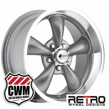 "17 / 18 inch 17x8"" / 18x9"" Gray Wheels Rims for Chevy Chevelle 1966-1972"