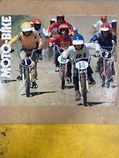 Yamaha Motobike Moto-Bike Original Tupe B Sales Brochure