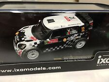 MINI JOHN COOPER #12 ARAUJO- 2012 IXO RALLY 1:43 DIECAST-CAR-MODEL RAM496