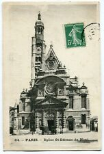 CPA - Carte Postale - France - Paris - Eglise St Etienne du Mont- 1909 (I10093)