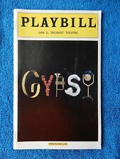Gypsy - Sam S. Shubert Theatre Playbill - Opening Night - May 1st, 2003 - Peters