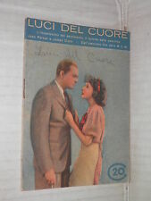 LUCI DEL CUORE Metro Goldwyn Mayer Jean Parker James Dunn Moneta 1935 cinema di