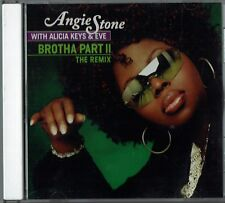 "ANGIE STONE - 5"" CD - Brotha Part II (3 Track Promo) Alicia Keys & Eve."