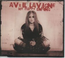 """AVRIL LAVIGNE  Rare 2004 UK Only OOP 2 Track CD Single """"My Happy Ending"""""""