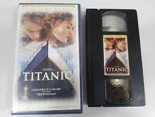 TITANIC LEONARDO DICAPRIO VHS TAPE COLECCIONISTA EDICION ESPAÑOLA JAMES CAMERON