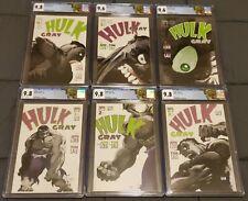 HULK GRAY (2003) #1 2 3 4 5 6 CGC 9.8 9.6 COMPLETE SERIES SET MARVEL COMICS