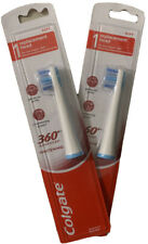 Colgate 360 Advanced Whitening Electric Toothbrush Replacement Head Pack of 2
