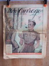 JOURNAL MON OUVRAGE N° 413 du 1er MAI 1940. TRAVAUX DE DAMES COUTURE BRODERIE