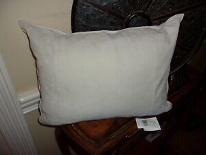 New Ralph Lauren Dover Street Reydon Suede Leather Gray Decorative Pillow  $255