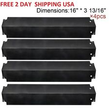Gas Grill 4 Heat Plates Shield Porcelain Steel BBQ Parts Charbroil Kenmore Sears