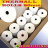 80 x 80mm Thermal Paper Till & EPoS Receipt Printer Rolls 80 x 80mm EPoS Rolls