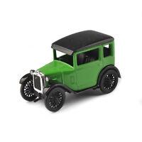 AUSTIN SEVEN 1/43 Scale Alloy Diecast Classic Green Vehicles Car RN Saloon Model