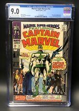 Marvel Super Heroes #12 CGC 9.0 - origin & 1st appearance Captain Marvel