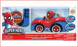 Marvel RC SPIDERMAN Car Vehicle - Radio Control 2.4 Ghz Spins & Wheelies 🌟NEW🌟
