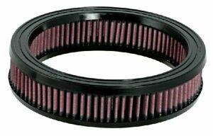 K&N Hi-Flow Performance Air Filter E-1080 fits Jeep CJ5 - CJ8 2.5, 3.8, 4.2