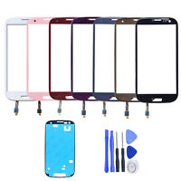 New Front Touch Screen Digitizer Glass Lens For Samsung Galaxy SIII S3 i9300