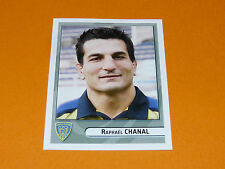 N°218 CHANAL CLERMONT ASM AUVERGNE PANINI RUGBY 2007-2008 TOP 14 FRANCE